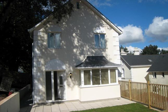 Thumbnail Detached house to rent in Highwood Close, Courtenay Road, Newton Abbot, Devon