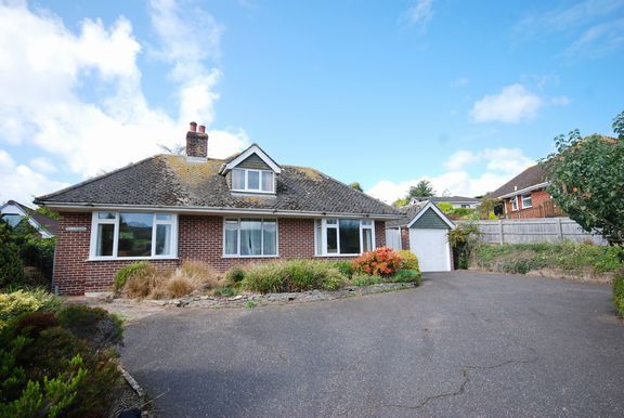 Front of Connaught Close, Sidmouth EX10