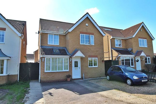 Thumbnail Detached house for sale in Berwick Way, Sandy