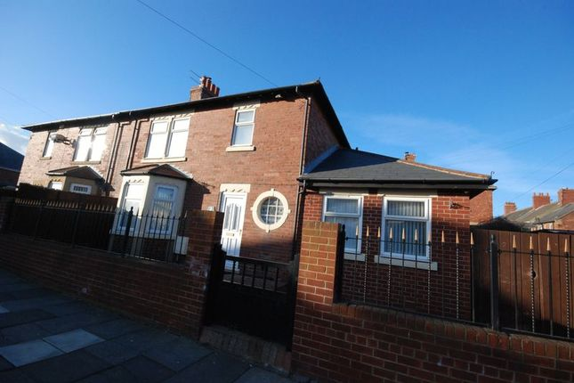Thumbnail Semi-detached house for sale in North View, Newbiggin-By-The-Sea