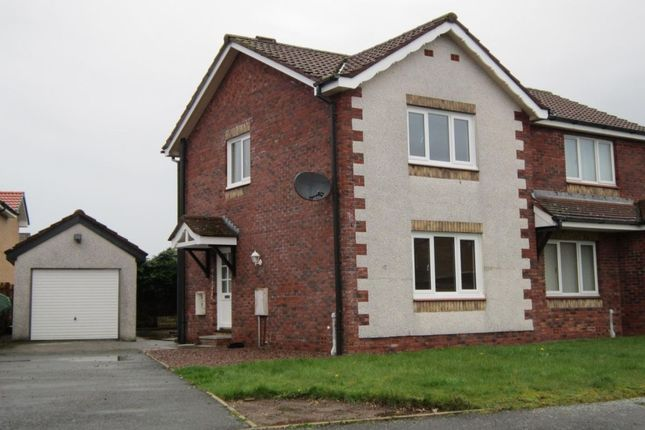 Thumbnail Semi-detached house to rent in Anson Avenue, Heathhall, Dumfries