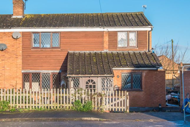 Thumbnail Semi-detached house for sale in Jubilee Close, Bidford-On-Avon, Alcester