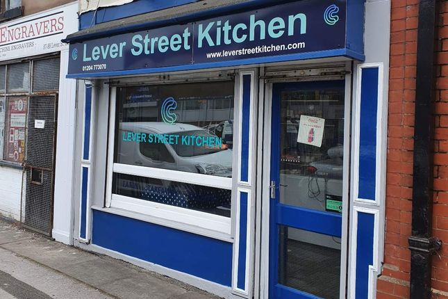 Thumbnail Retail premises for sale in Lever Street, Bolton