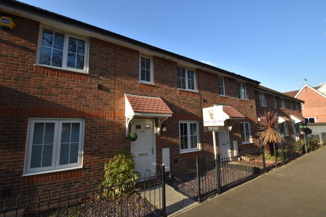 Thumbnail Terraced house for sale in Mescott Meadows, Hedge End, Southampton
