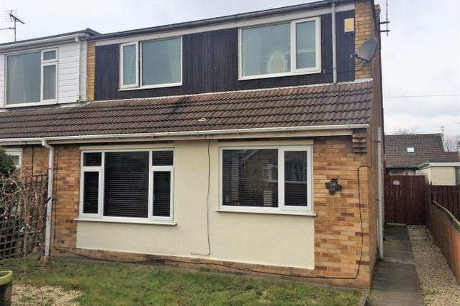 Thumbnail Semi-detached bungalow for sale in Grandale, Hull, Yorkshire