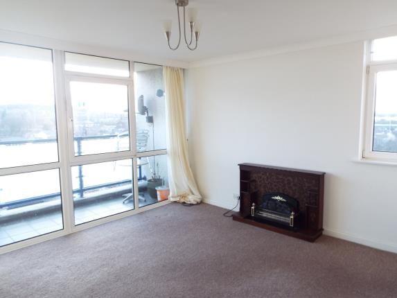 Lounge of Churchill Mansions, Cooper Street, Runcorn, Cheshire WA7
