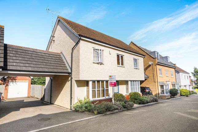 Thumbnail Detached house for sale in Bawden Way, Great Baddow, Chelmsford