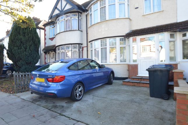 Thumbnail Semi-detached house to rent in Dawlish Avenue, Perivale, Greenford