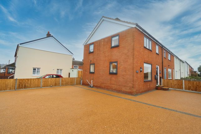 Thumbnail End terrace house for sale in Chigwell View, Collier Row, Romford