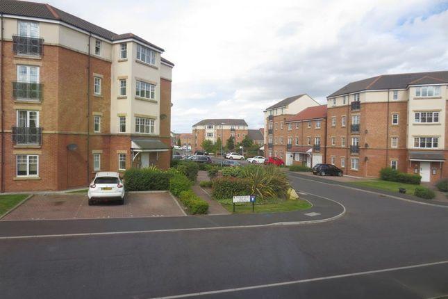 Thumbnail Flat to rent in Sanderson Villas, St. James' Village, Gateshead