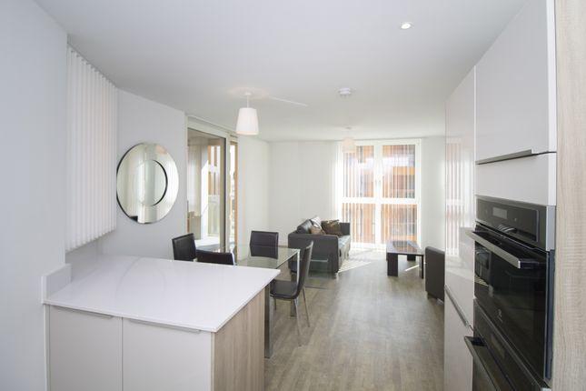 Living Room 2 of Tiggap House, Enderby Wharf, Greenwich SE10