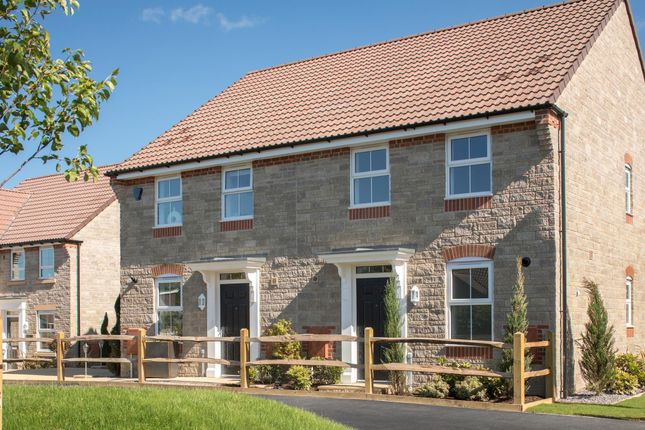 """Thumbnail Semi-detached house for sale in """"Ashurst"""" at Langport Road, Somerton"""