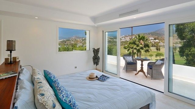 Double Bedroom And Terrace Views
