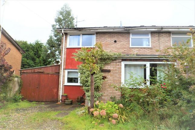 Thumbnail Semi-detached house for sale in Derby Road, Wrexham