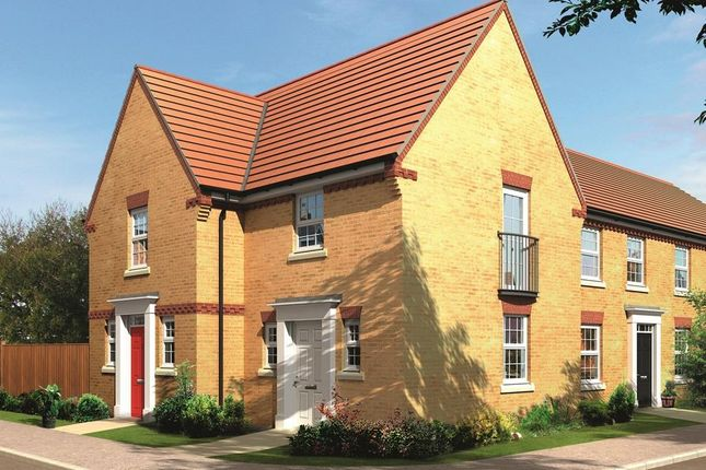"Thumbnail End terrace house for sale in ""Lewes, Darwin View"" at Stonnyland Drive, Lichfield"
