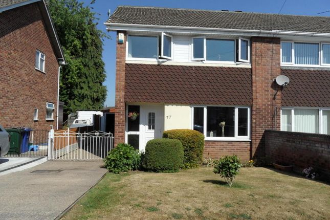Thumbnail Semi-detached house for sale in Lutterworth Drive, Adwick-Le-Street, Doncaster