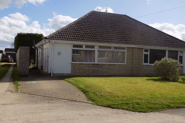 Thumbnail Semi-detached bungalow for sale in Bradenstoke, Chippenham