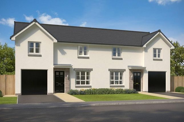 "Thumbnail Semi-detached house for sale in ""Ravenscraig"" at Hopetoun Grange, Bucksburn, Aberdeen"
