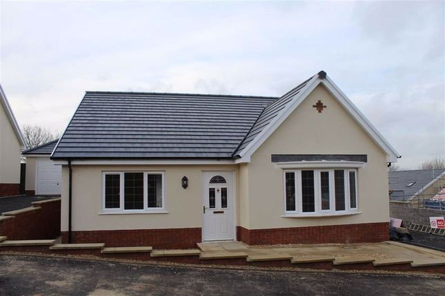 Thumbnail Detached bungalow for sale in Morgan Court/Maes Y Nant, Llangunnor, Carmarthen