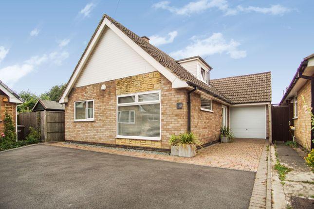 Thumbnail Detached bungalow for sale in Harrington Close, Quorn, Loughborough