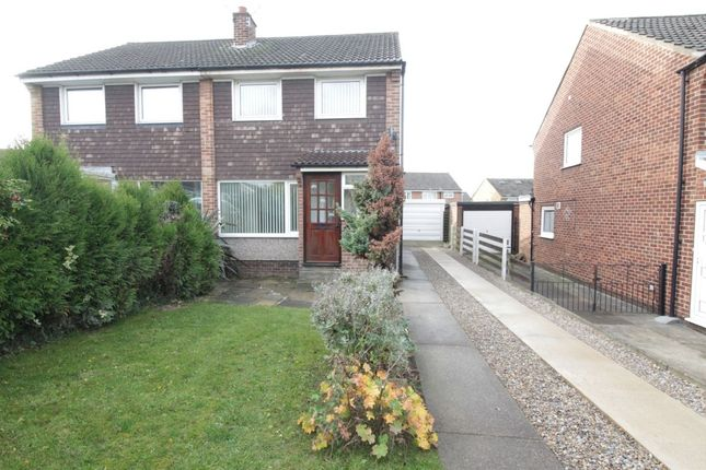 Thumbnail Semi-detached house to rent in Eskdale Grove, Garforth, Leeds