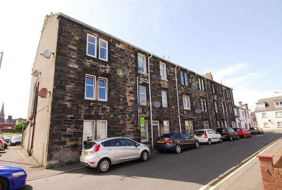 Thumbnail Flat for sale in Morris Street, Largs
