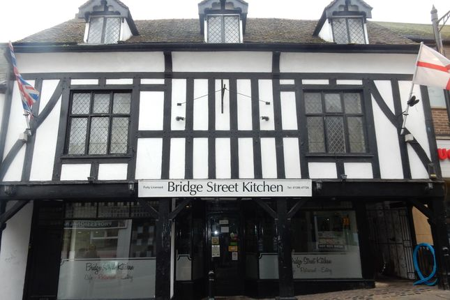 Thumbnail Commercial property for sale in Monks Walk, Bridge Street, Evesham