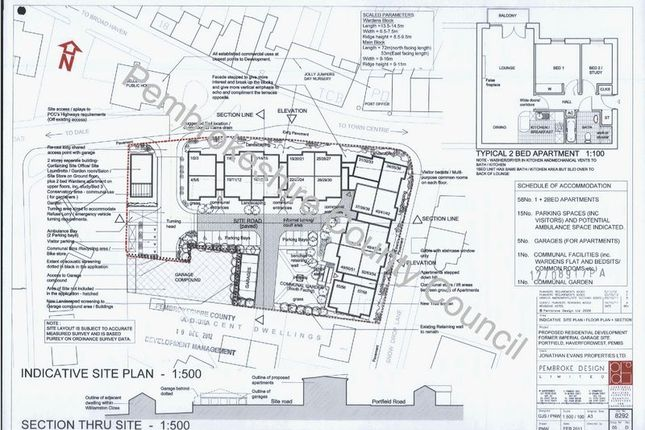 Thumbnail Land for sale in Portfield, Haverfordwest