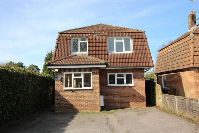 Thumbnail Detached house to rent in Highland Road, Camberley
