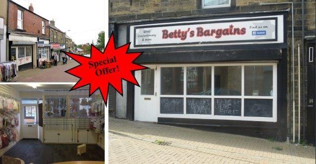 Retail premises to let in High Street, Felling, Gateshead