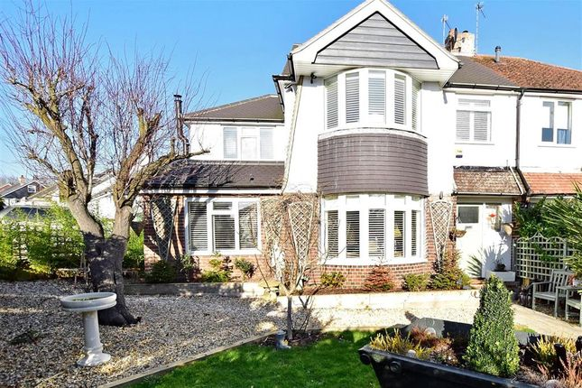 Thumbnail Semi-detached house for sale in Mackie Avenue, Brighton, East Sussex