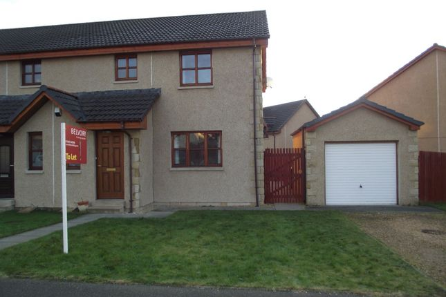 3 bed semi-detached house to rent in Birnie Circle, Elgin, Moray IV30