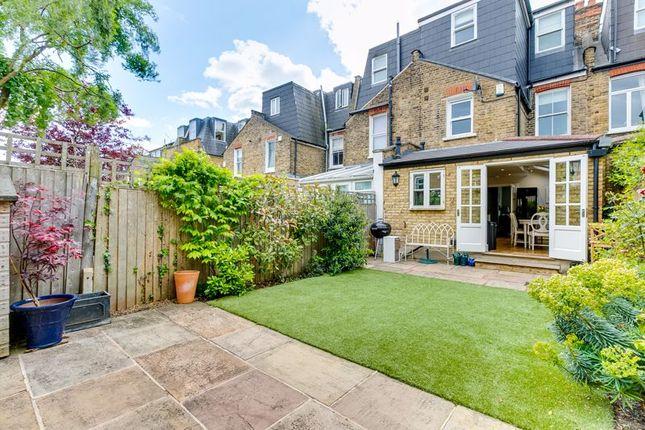 Garden of Astonville Street, London SW18
