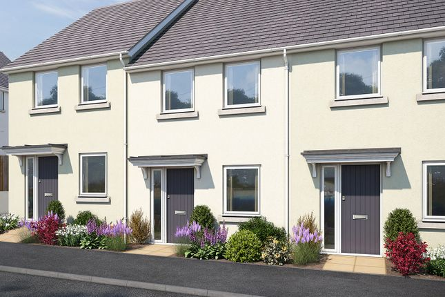 "Thumbnail 2 bedroom terraced house for sale in ""The Avebury"" at Vicarage Hill, Kingsteignton, Newton Abbot"