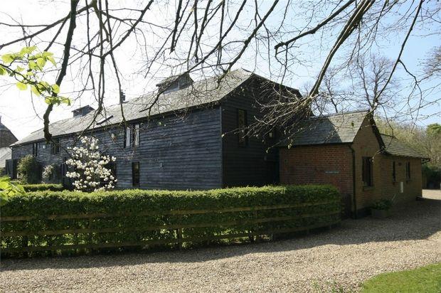 Thumbnail Barn conversion for sale in Bickton, Fordingbridge, Hampshire