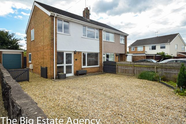 Thumbnail Semi-detached house for sale in Moorcroft, New Brighton, Mold