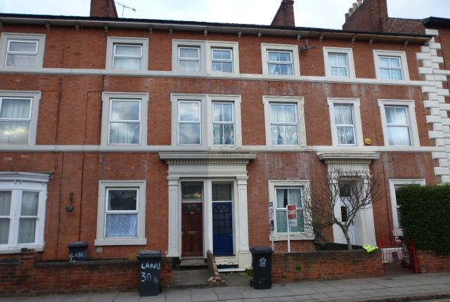Thumbnail Town house for sale in Lancaster Road, Leicester