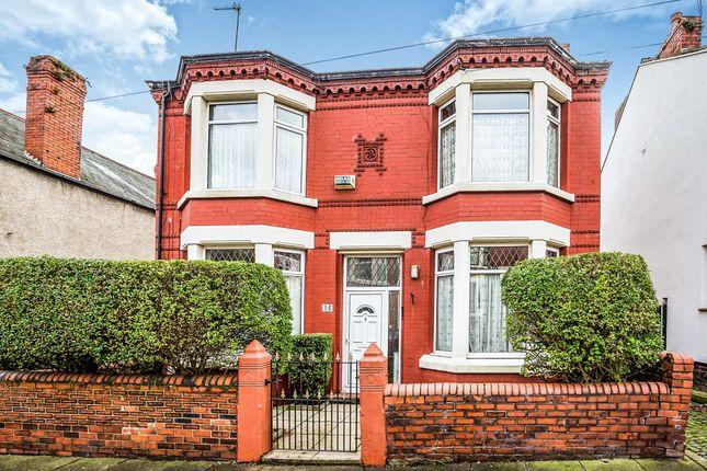 Thumbnail Detached house for sale in Ash Villas, Ashville Road, Wallasey