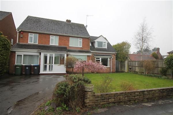 Thumbnail Detached house for sale in Elm Drive, Alcester, Alcester, Alcester