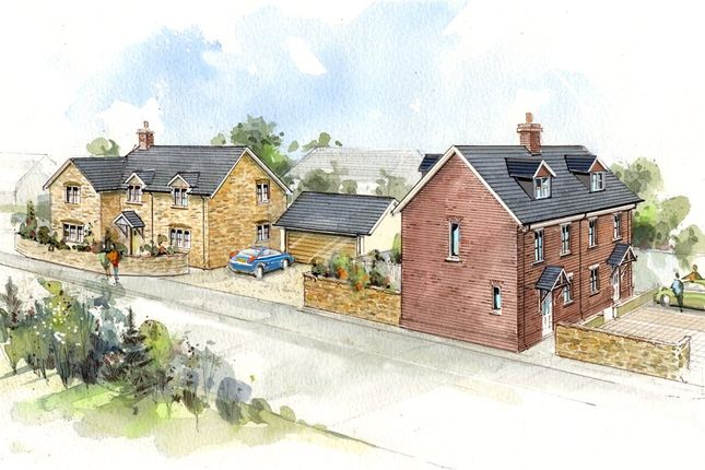 Thumbnail Semi-detached house for sale in Phillips Hill, Marnhull, Sturminster Newton, Dorset