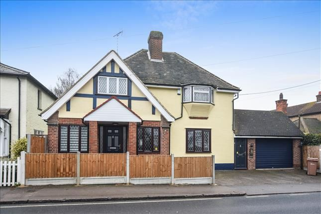Thumbnail Detached house for sale in Stock Road, Chelmsford