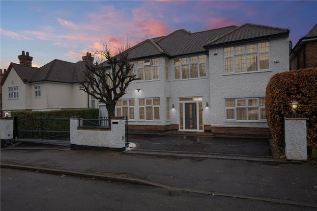 Thumbnail Detached house for sale in Curzon Avenue, Birstall, Leicester