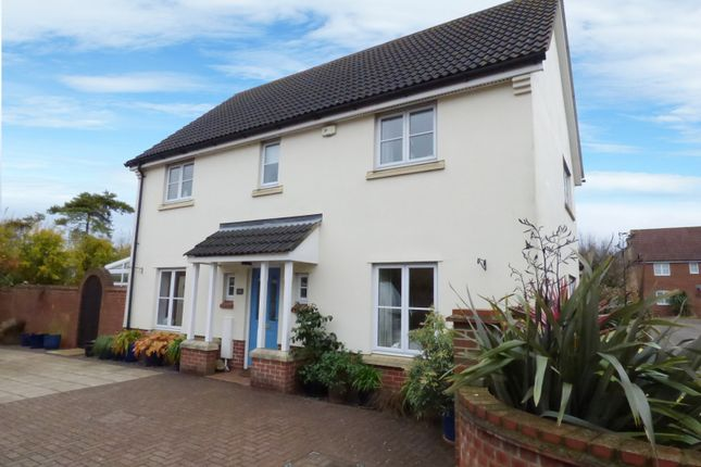 Thumbnail Detached house for sale in Jermyn Way, Tharston