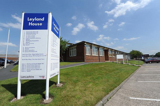 Office to let in Leyland House, Leyland