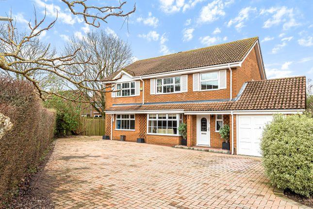 Thumbnail Detached house for sale in Greenbirch Close, Kempshott, Basingstoke