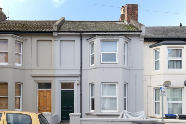 Thumbnail Terraced house to rent in Hertford Road, Worthing