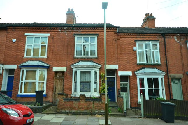 Thumbnail Terraced house for sale in Lorne Road, Leicester