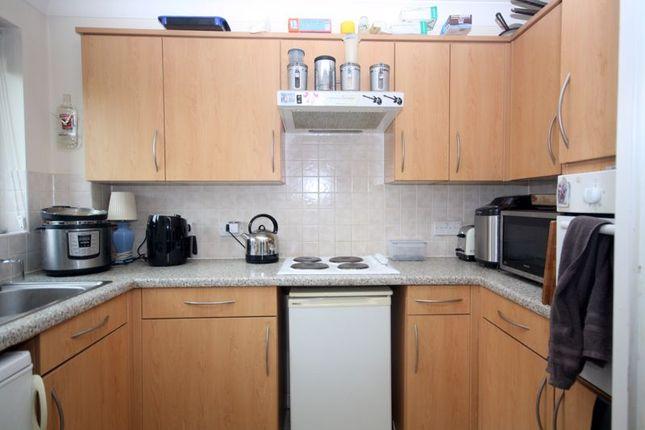 Kitchen of Cliff Richard Court, Cheshunt EN8