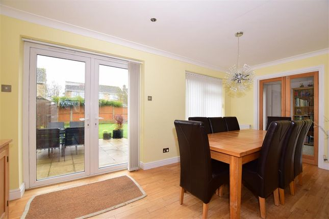 Thumbnail Semi-detached house for sale in Southmead Close, Folkestone, Kent