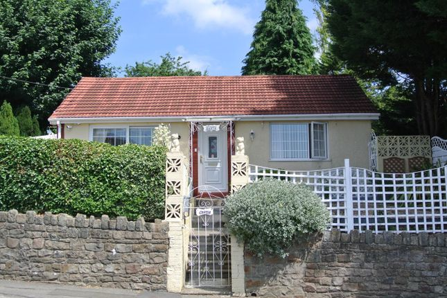 Thumbnail Detached bungalow for sale in High Street, Pontypool